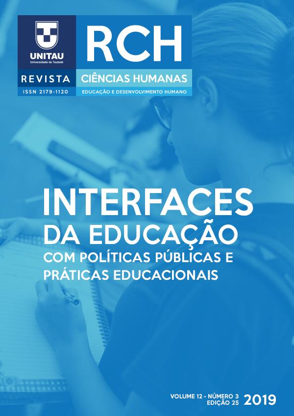 Visualizar v. 12 n. 3 (2019): Interfaces da Educação com políticas públicas e práticas educacionais